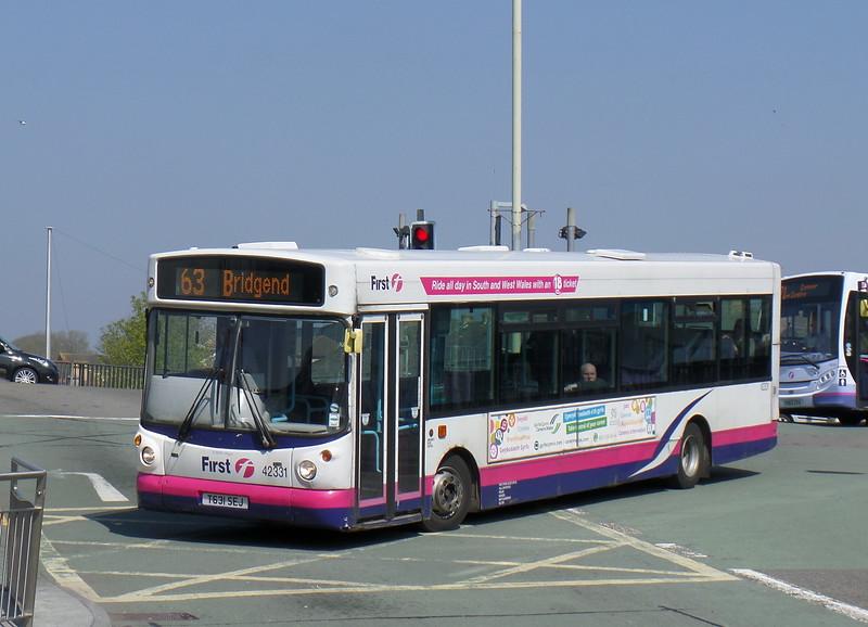 First Cymru 42331 - T631SEJ - Bridgend (bus station)