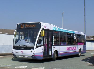 First Cymru 49009 - YJ13HMV - Bridgend (bus station)
