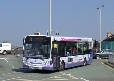 First Cymru 44588 - YX63ZVF - Bridgend (bus station)
