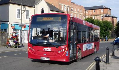 Salisbury Reds 2722 - HF64BPZ - Salisbury (Fisherton St)