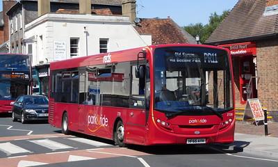 Salisbury Reds 2728 - HF65AYH - Salisbury (Fisherton St)