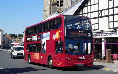 Salisbury Reds 1571 - HW63FGM - Salisbury (Fisherton St)