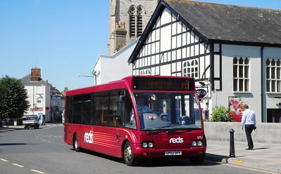 Salisbury Reds 3751 - GP02DPV - Salisbury (Fisherton St)