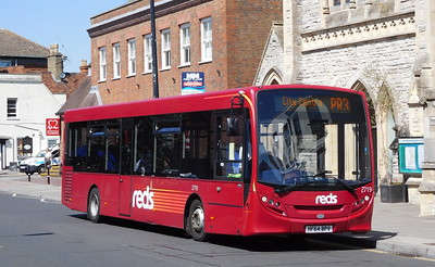 Salisbury Reds 2719 - HF64BPV - Salisbury (Fisherton St)
