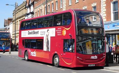 Salisbury Reds 1543 - HJ63JKK - Salisbury (Blue Boar Row)