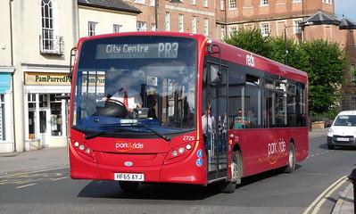 Salisbury Reds 2729 - HF65AYJ - Salisbury (Fisherton St)