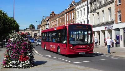 Salisbury Reds 2707 - YX64VOJ - Salisbury (Blue Boar Row)