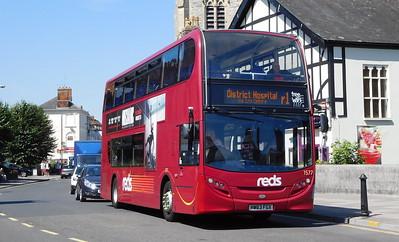Salisbury Reds 1577 - HW63FGX - Salisbury (Fisherton St)