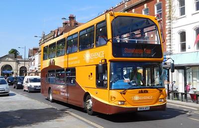 Salisbury Reds 1002 - YN54AFX - Salisbury (Blue Boar Row)
