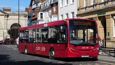 Salisbury Reds 2705 - YX64VOG - Salisbury (Blue Boar Row)