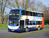 Stagecoach in Hampshire 15806 - GX12DXU - Andover (Folly roundabout) - 10.3.12