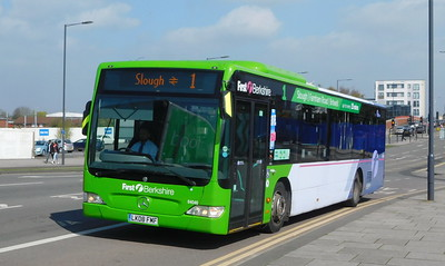 First in Berkshire 64046 - LK08FMF - Slough (Stoke Road)