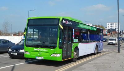 First in Berkshire 64034 - LK07CCJ - Slough (Stoke Road)