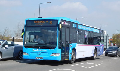 First in Berkshire 64039 - LK07CCX - Slough (Stoke Road)