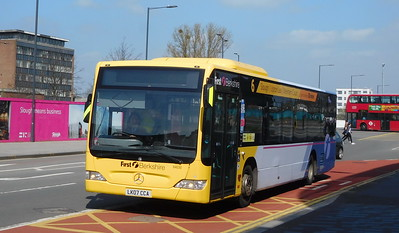 First in Berkshire 64030 - LK07CCA - Slough (William St)