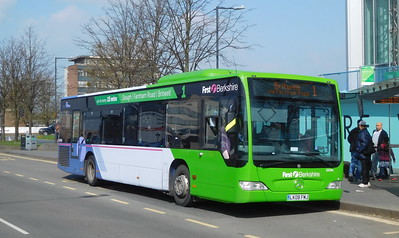 First in Berkshire 64048 - LK08FMJ - Slough (Wellington St)