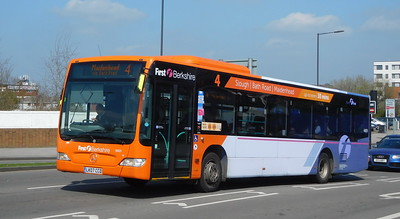 First in Berkshire 64031 - LK07CCD - Slough (Stoke Road)
