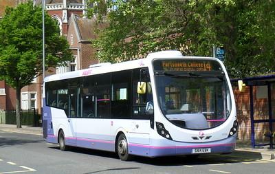 First Solent 47575 - SN14EBK - Portsmouth (Bishop Crispian Way)