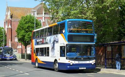 Stagecoach in Portsmouth 18518 - NDZ3018 - Portsmouth (Bishop Crispian Way)