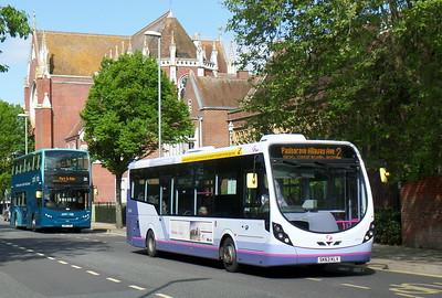 First Solent 47414 - SK63KLV - Portsmouth (Bishop Crispian Way)