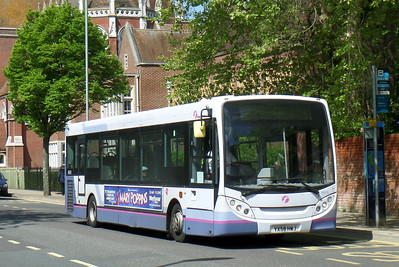 First Solent 44510 - YX58HWJ - Portsmouth (Bishop Crispian Way)