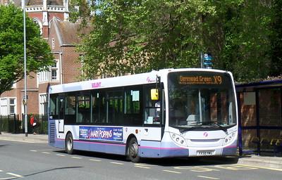 First Solent 44508 - YX58HWG - Portsmouth (Bishop Crispian Way)