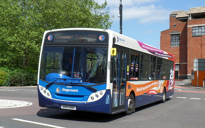 Stagecoach in Portsmouth 27874 - GX13AOU - Portsmouth (Bishop Crispian Way)