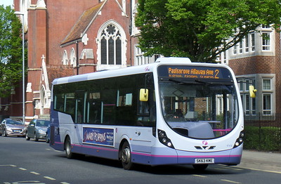 First Solent 47418 - SK63KME - Portsmouth (Bishop Crispian Way)