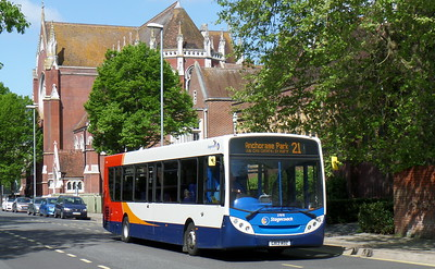 Stagecoach in Portsmouth 27878 - GX13AOZ - Portsmouth (Bishop Crispian Way)