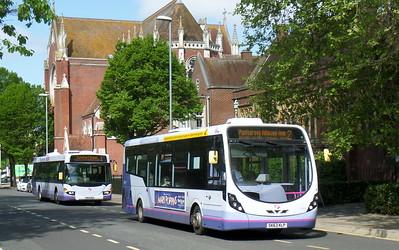 First Solent 47411 - SK63KLP - Portsmouth (Bishop Crispian Way)