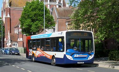 Stagecoach in Portsmouth 27570 - GX58GNZ - Portsmouth (Bishop Crispian Way)