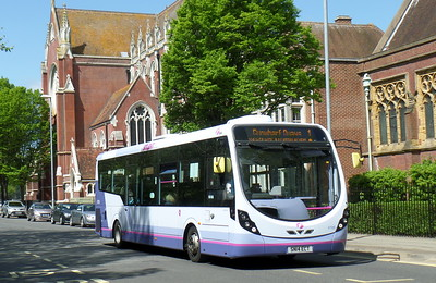 First Solent 47590 - SN14ECT - Portsmouth (Bishop Crispian Way)