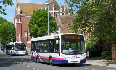 First Solent 44918 - YX09AHE - Portsmouth (Bishop Crispian Way)