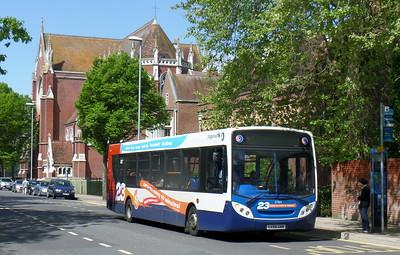 Stagecoach in Portsmouth 27564 - GX58GNN - Portsmouth (Bishop Crispian Way)