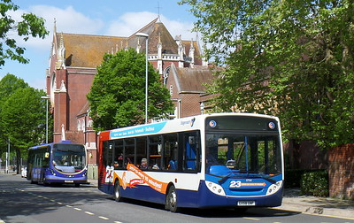 Stagecoach in Portsmouth 27561 - GX58GNF - Portsmouth (Bishop Crispian Way)