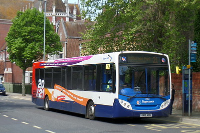 Stagecoach in Portsmouth 27868 - GX13AON - Portsmouth (Bishop Crispian Way)