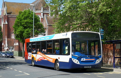 Stagecoach in Portsmouth 27568 - GX58GNV - Portsmouth (Bishop Crispian Way)