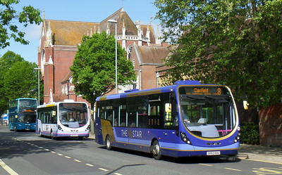 First Solent 63043 - SK63KHU - Portsmouth (Bishop Crispian Way)