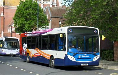 Stagecoach in Portsmouth 27867 - GX13AOM - Portsmouth (Bishop Crispian Way)