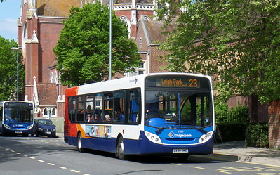 Stagecoach in Portsmouth 27553 - GX58GME - Portsmouth (Bishop Crispian Way)