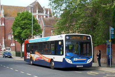 Stagecoach in Portsmouth 27557 - GX58GMU - Portsmouth (Bishop Crispian Way)