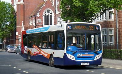 Stagecoach in Portsmouth 27558 - GX58GMV - Portsmouth (Bishop Crispian Way)