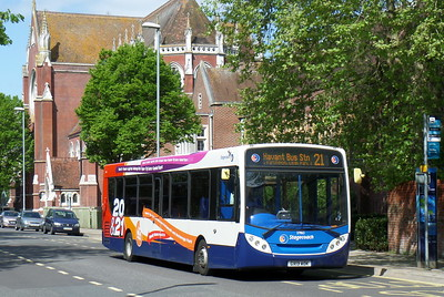 Stagecoach in Portsmouth 27865 - GX13AOK - Portsmouth (Bishop Crispian Way)