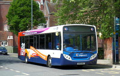 Stagecoach in Portsmouth 27866 - GX13AOL - Portsmouth (Bishop Crispian Way)