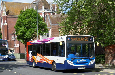 Stagecoach in Portsmouth 27861 - GX13ANU - Portsmouth (Bishop Crispian Way)