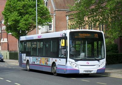 First Solent 44507 - YX58HWF - Portsmouth (Bishop Crispian Way)
