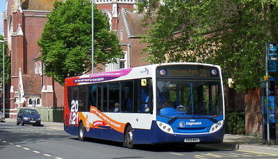 Stagecoach in Portsmouth 27864 - GX13AOJ - Portsmouth (Bishop Crispian Way)