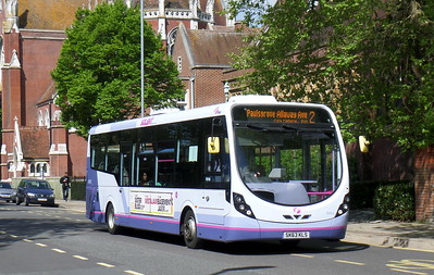 First Solent 47412 - SK63KLS - Portsmouth (Bishop Crispian Way)