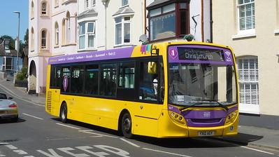RATP Yellow Buses 527 - YX12AGY - Christchurch (Bridge St)