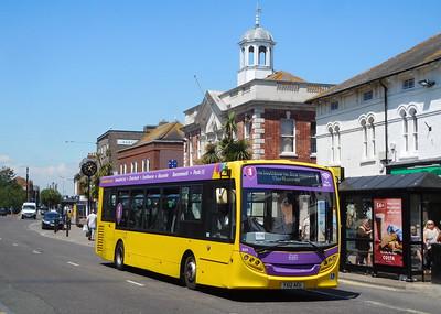 RATP Yellow Buses 524 - YX12AEU - Christchurch (High St)